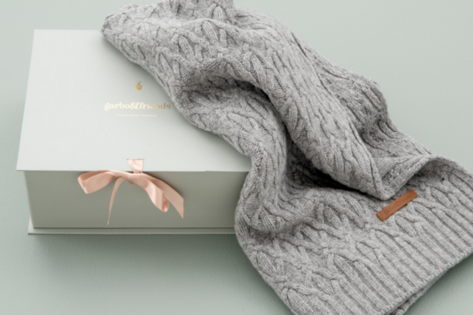 Wool Blanket for couch or pram with a lovely gift box