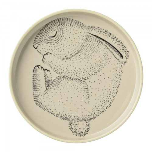 Kids Serving Plate with a Bunny by Bloomingville