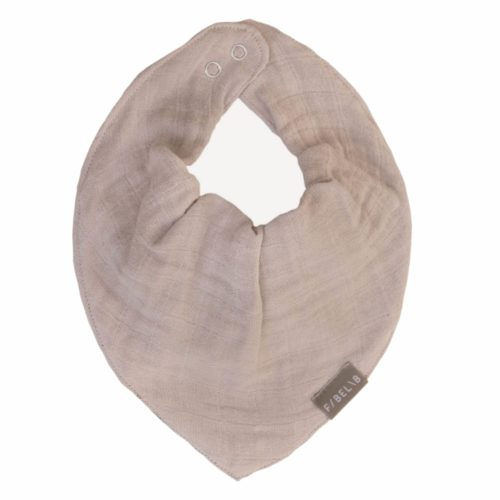 Baby Bib Mauve by Fabelab made from organic cotton