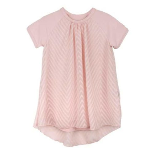 Pink Little Girls dress Laura by Mimi Disain