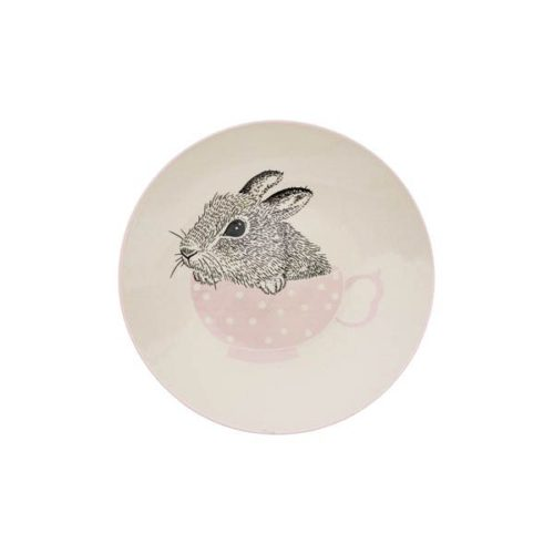 Kids Plate with a Bunny in a cup by Bloomingville