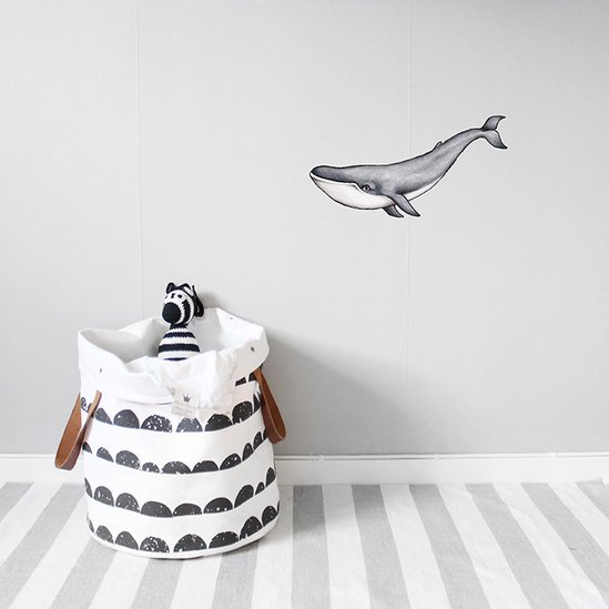 Nursery Wall Decals - Whale