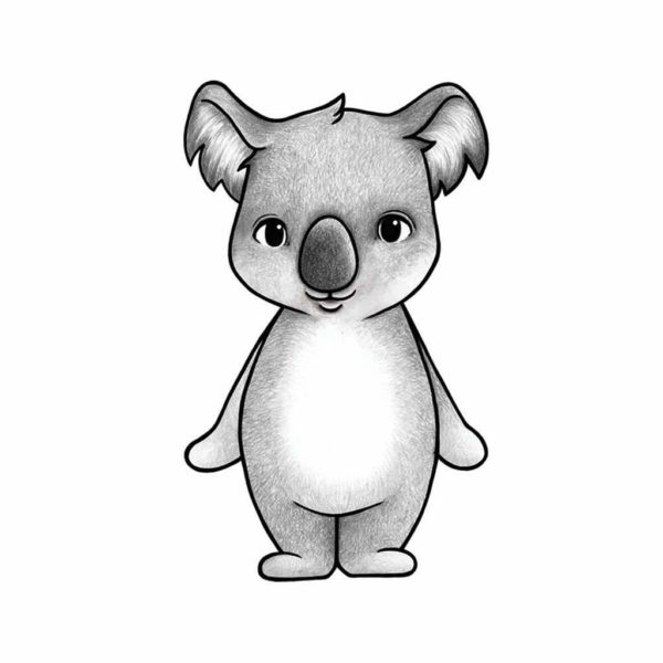 Australian Animals Wall Stickers for Nursery - Koala