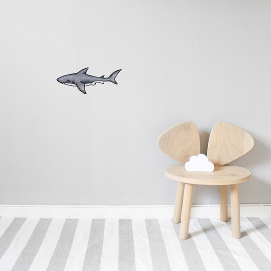 wall art for kids & toddlers - ocean friends wall stickers