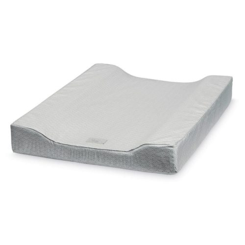 Baby Changing Cushion Grey Wave