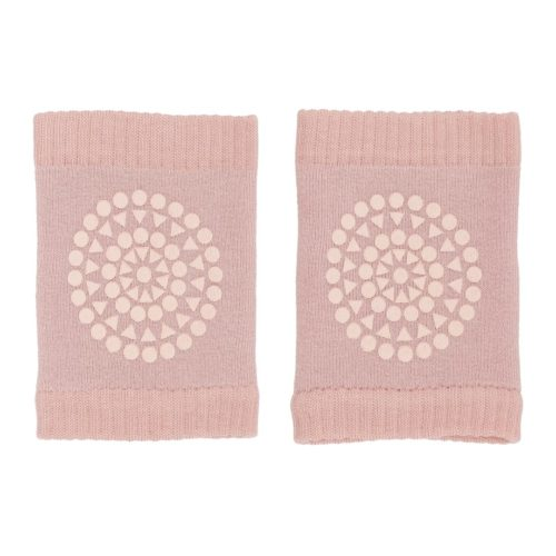 Baby crawling kneepads in dusty rose colour