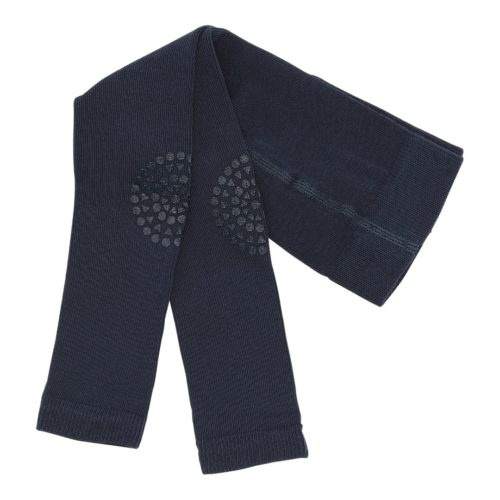 Baby crawling leggings in navy blue colour