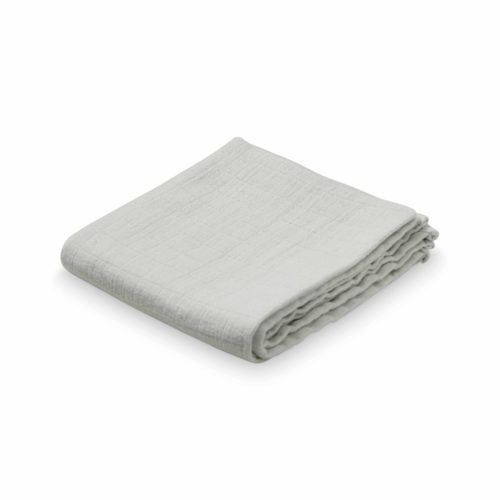 Organic muslin cloth for baby in mint