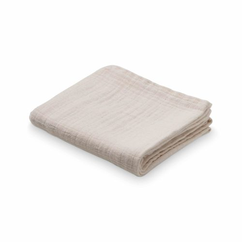 Organic muslin cloth for nursery in nude