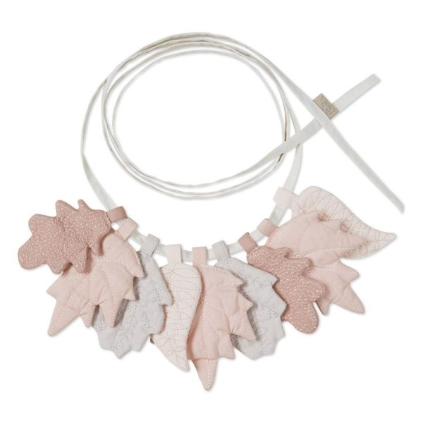 Mix rose leaves garland for nursery