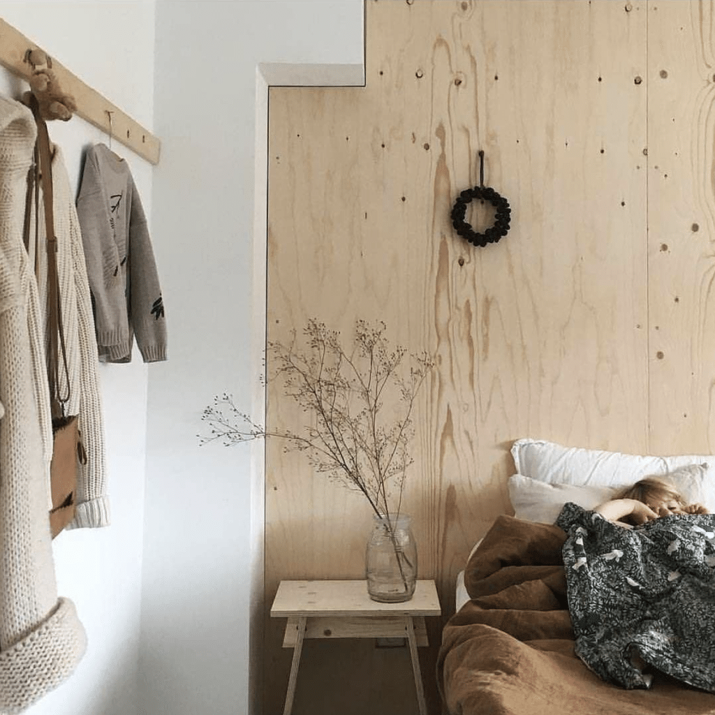 Scandi nursery design