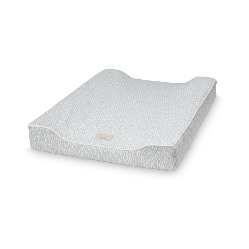 cam cam baby changing mat - peacock grey | nordlife australia