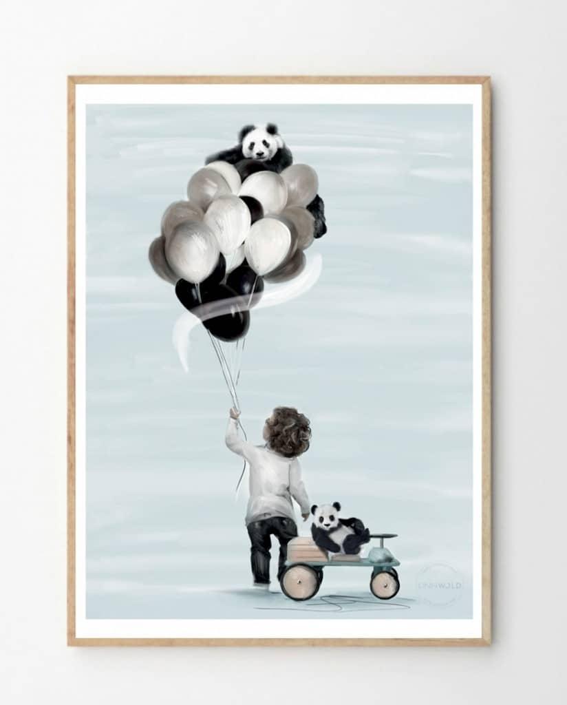 Little Adam Linn Wold fine art print kids bedroom decor