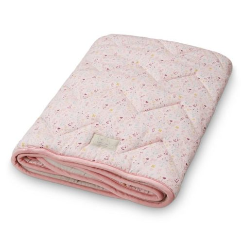 Cam Cam quilted baby blanket bedding fleur