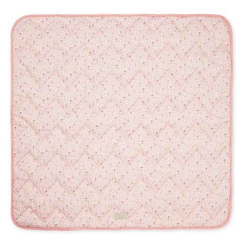 Cam Cam quilted baby blanket bedding for kids fleur pink