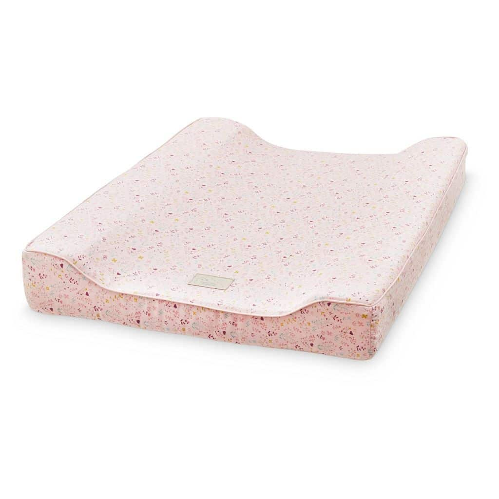Cam Cam baby changing mat for changing table fleur pink