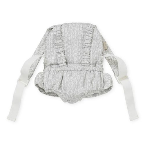 Grey wave Cam Cam dolls carrier for baby dolls and teddy bears