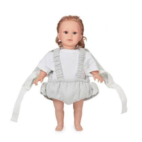 Grey wave Cam Cam doll carrier for baby dolls and teddy bears