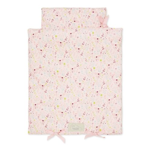 Cam Cam dolls bedding for baby dolls and teddy bears in fleur pink