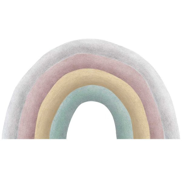 Joys rainbow wall sticker for little girls bedroom decor