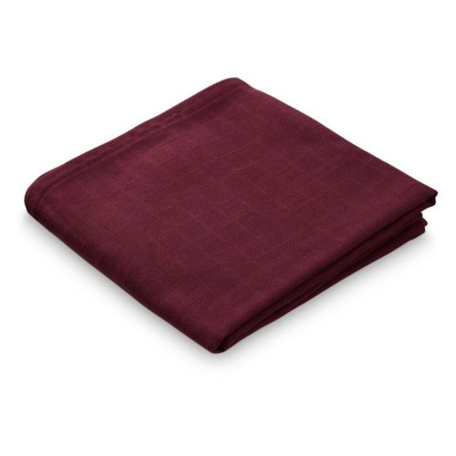 Cam Cam organic cotton muslin cloth bordeaux