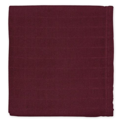 Cam Cam organic cotton muslin cloth for nursery bordeaux