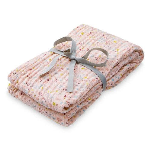 Cam Cam muslin burping swaddle cloth for babies in fleur