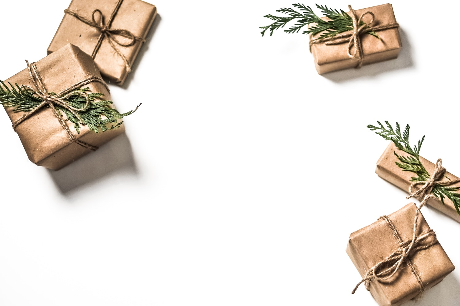 Little gifts presents wrapped