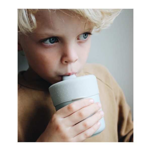 silicone sippy cup lid dumbo grey