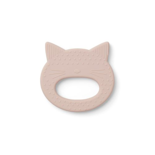CAt shaper silicone teether