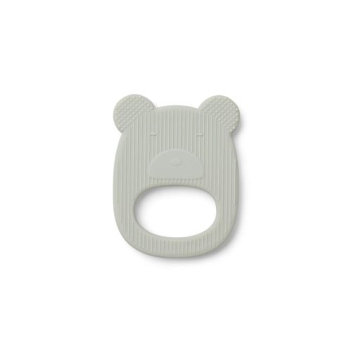 Silicone Bear teether, mint colout
