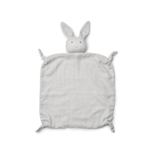 Grey Rabbit Baby Comforter