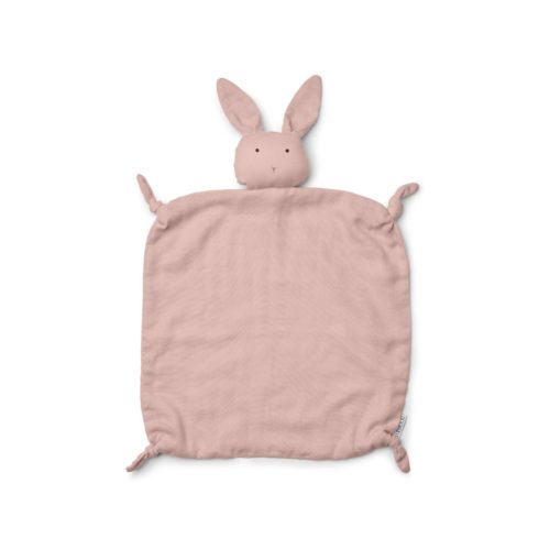 Pink Rabbit Baby Comforter