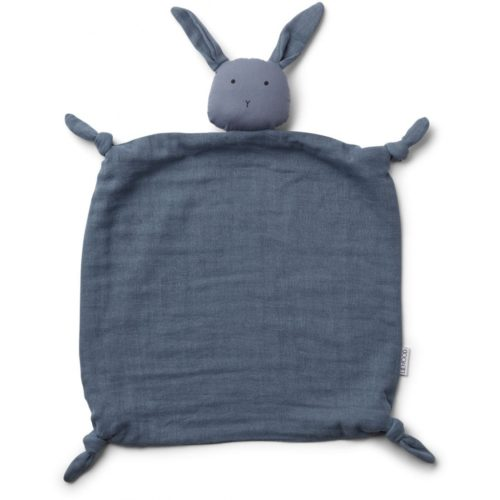 blue rabbit shaped baby comforter