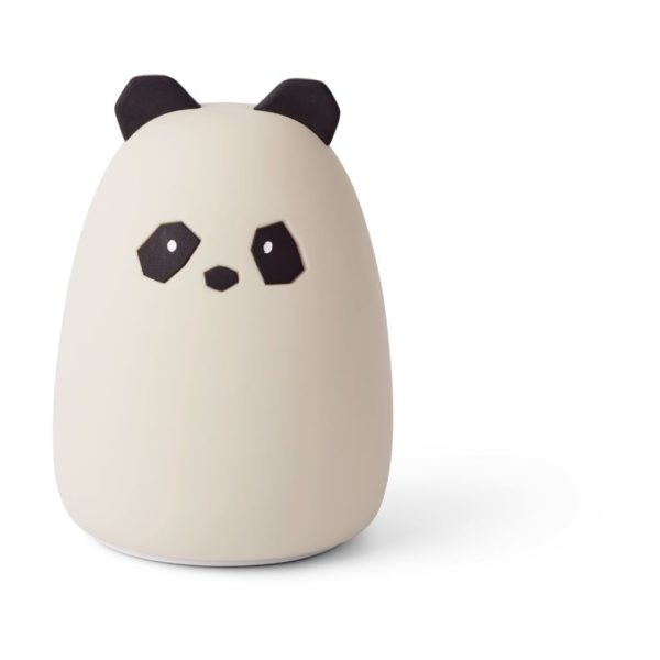 white and cream coloured Kids night light in a shape of panda