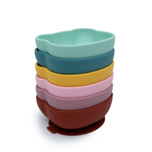 Different colours of Baby Stickie Bowls