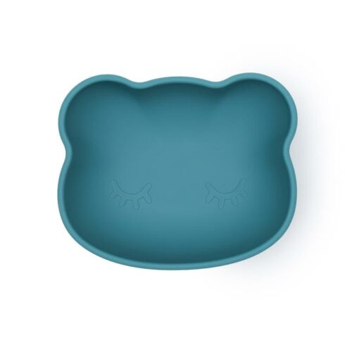Blue dusk Silicone Suction Bowl