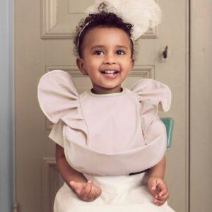 Elodie Details Baby Bib Powder Pink1