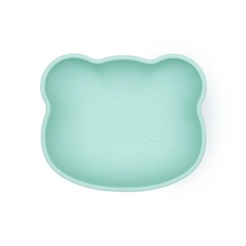 Mint Bear Shaped Baby Silicone Bowl